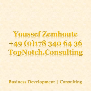 Sales Agent in Germany Topnotch.consulting Top Notch Consulting Youssef Zemhoute